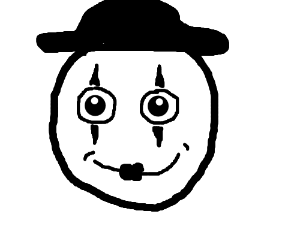 Smiley the mime