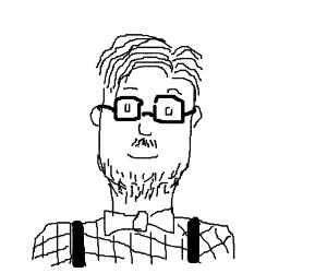 The whitest hipster ever