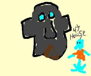 Squidward Horse