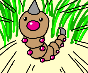 A wild Weedle appears!