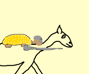 Glyptodont Jousting