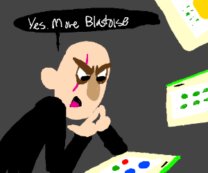 The guy who has been controlling Drawception.