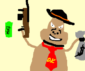 Gangsta Donkey Kong
