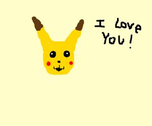 Pikachu loves you!