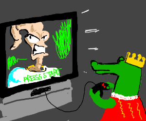 Someday Alligator King will play Earthworm Jim