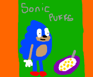 Sonic is a cereal mascot. Gotta breakfast