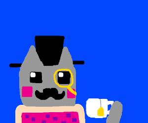 Sir nyan cat
