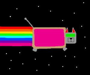 Robot Nyan Cat.