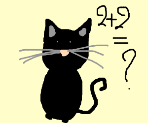 Cats (all your base) can't do math