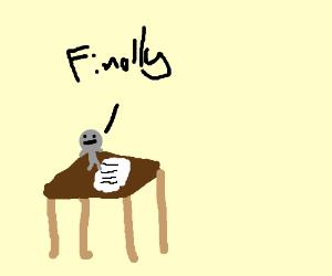 koala writing a novel koala finally finishes essay