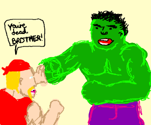 Hulk Hogan vs Incredible Hulk