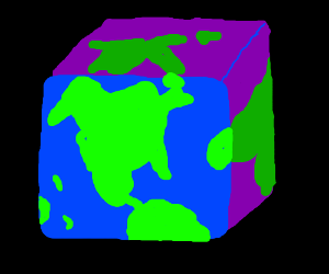 The world is a cube