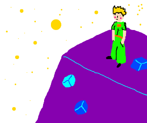 The Little Prince and the Planet of the Cubes!