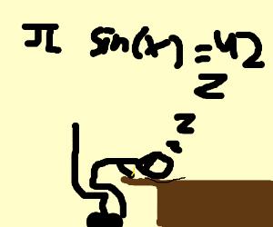 I do math to sleep