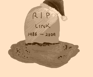 Link has died on Christmas 2009