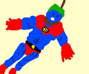 Captain Planet kills himself