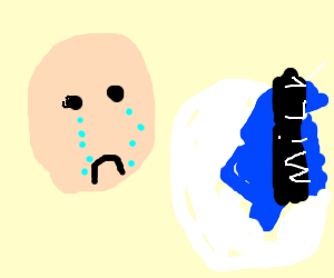 Crying over spilt milk.