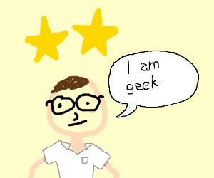 Two star-crossed geeks