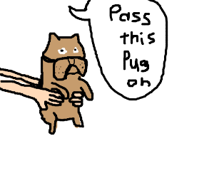 Pass the Pug on