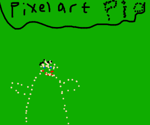 Pixel art PIO