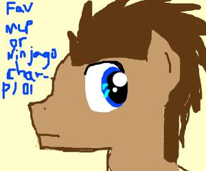Your fav fic character from Ninjago or MLP pio