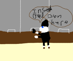 robber sheep uses baaad pun when robbing