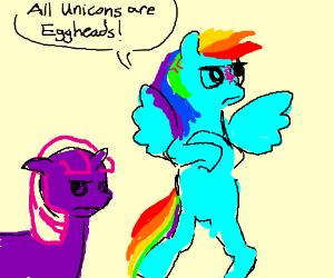 Unicorn racism.
