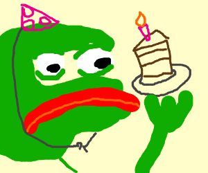 Pepe The Frogs Birthday