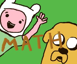 Finn and Jake debate math