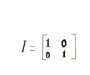 A matrix trying to pose as an Identity matrix