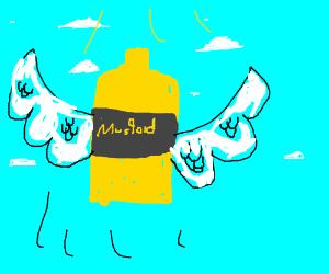 All dead mustard bottles go to heaven.