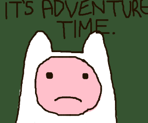 Finn the human & his catchphrase