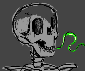 Skeleton is in need of Halls(TM)