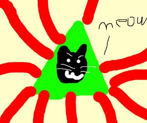 Illuminati Cat of Bad Luck