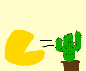Cactus could have been a Pacman character