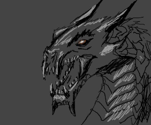 This dragon is sort of okay.