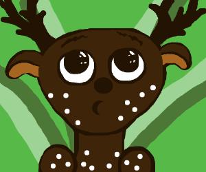 Deer with mycosis