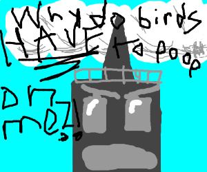 Angry skyscraper