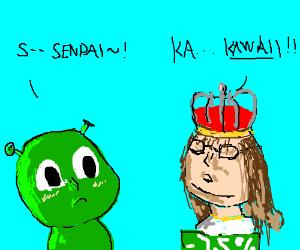 Gabe Newell vs Shrek, anime style!