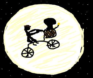 E.T going home