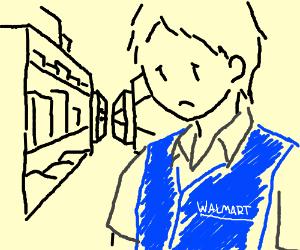 Unhappy Walmart Employee