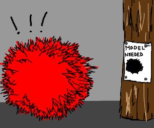 Red fuzzball's moment has arrived