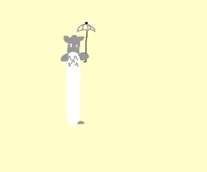 Skinny Totoro