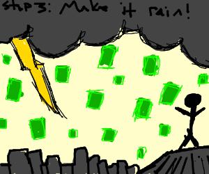 ...step 3: make it rain