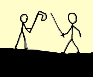 Stick Figure Fight