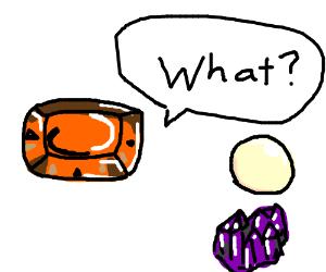 Garnet is confused