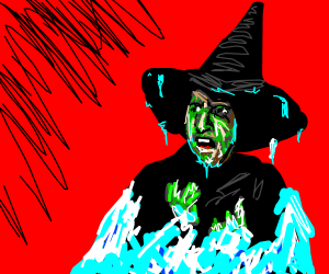 The Wicked Witch is Freezing