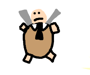 Blastoise's eating attire
