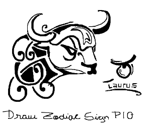 Draw your Zodiac sign PIO