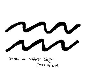 Draw Zodiac Sign PIO